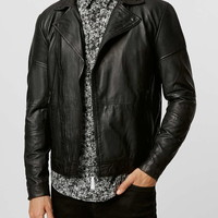 Selected Homme Leather Jacket*