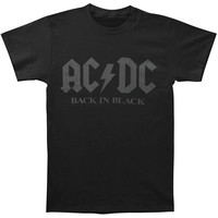 AC/DC Men's  Back In California T-shirt Black
