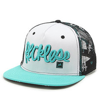 Young and Reckless Jolly Roger Trucker Hat at PacSun.com