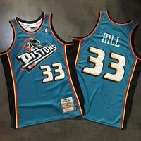 1998-99 Mitchell & Ness 33 Grant Hill Swingman Jersey-1