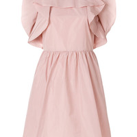 Red Valentino Ruffled Mini Dress - Farfetch