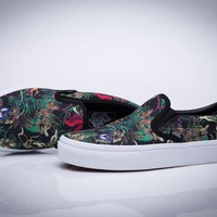 VANS Slip-On Old Skool Print Flats Shoes Sneakers Sport Shoes