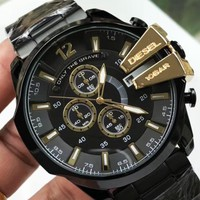 Diesel 2019 new high-end fashion steel belt watch #1