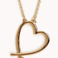 Cutout Heart Necklace