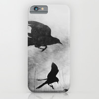 Learn to Fly - Black and White iPhone & iPod Case by Olivia Joy StClaire