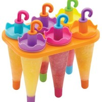 Umbrella Shaped Popsicle / Ice Pop Molds - Set of 6