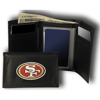 Rico San Francisco 49ers Embroidered Tri Fold Wallet