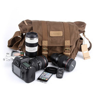 Canvas Mens Bag Canvas Messenger Camera Bag Briefcase