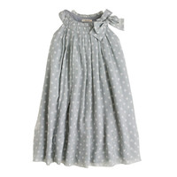 Girls' collection crinkle silk chiffon dot dress - all dressed up - Girl's Girl_Special_Shops - J.Crew