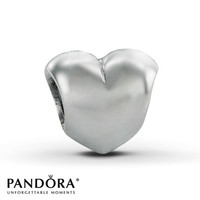Pandora Charm Big Smooth Heart Sterling Silver