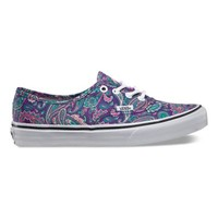 Vans Paisley Authentic (violet/true white)