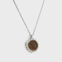 Growth Ring Inlay Necklace