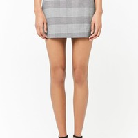 Glen Plaid Mini Skirt