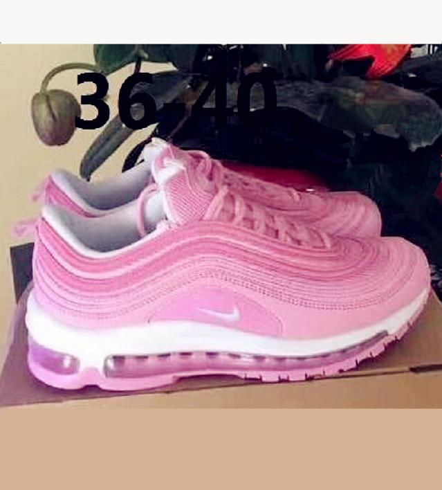 Image of NIKE AIR MAX 97 Fashion Running Sneakers Sport Shoes pink H