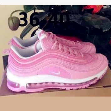 NIKE AIR MAX 97 Fashion Running Sneakers Sport Shoes pink H