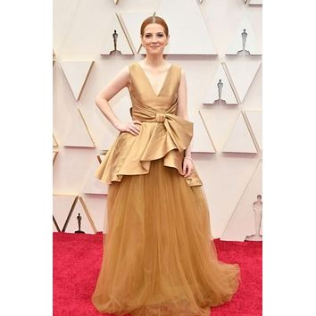 Krysty Wilson Tulle Satin The Celebrity Dress Prom Dress Oscars 2020 Red Carpet Gown