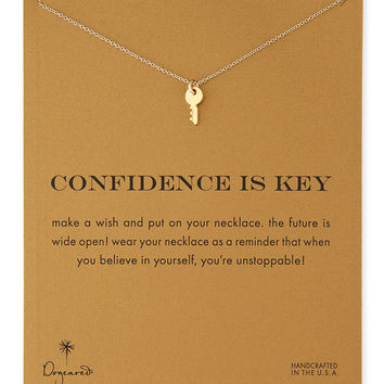 Gold-Dipped Confidence is Key Necklace - Dogeared