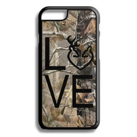 Black Buck Love Camo Monogram iPhone 5S 5C 6/6S and Galaxy Custom Personalized Case Cover