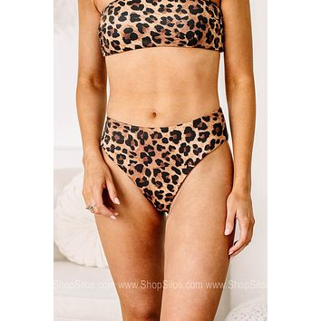 Eyes On You Cheetah Swimsuit Bottoms