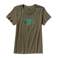 Patagonia Women's Live Simply® Sleeping Out Cotton T-Shirt