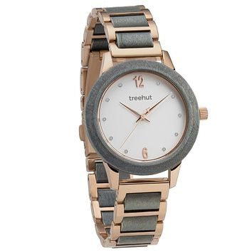 Constance Grey Maple Rose Gold