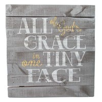 All God's Grace Wood Sign | Shop Hobby Lobby