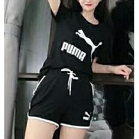 PUMA summer short - sleeve shorts suit.N-AG-CLWM