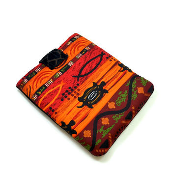 Hand Crafted Tablet Case From African /Tribal /Ethnic Fabric /Case for: iPad, Samsung Galaxy , Google Nexus,Nook HD