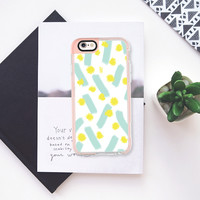 Light Blue strokes & Dots - Brightly Spring iPhone 6s case by Allyson Johnson | Casetify