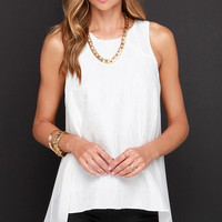 Searching High-Low Ivory Top