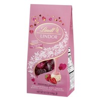 Lindt Lindor White Chocolate Truffles Strawberries And Cream, 8.5 OZ - Walmart.com