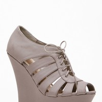 Bamboo Peep Toe Dreamer Grey Wedge @ Cicihot Wedges Shoes Store:Wedge Shoes,Wedge Boots,Wedge Heels,Wedge Sandals,Dress Shoes,Summer Shoes,Spring Shoes,Prom Shoes,Women's Wedge Shoes,Wedge Platforms Shoes,floral wedges