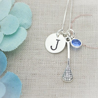 Sterling Silver Lacrosse Field Hockey or by TracyTayanDesigns