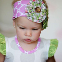 Giggle Moon Lilly of Valley Knit Headband