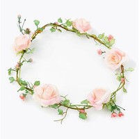 Floral Day Headband - Pink