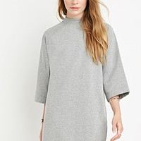 Oversized High-Neck Top