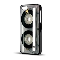 "Old School Retro ""Clear Cassette"" Vintage Case for iPhone 5 (Verizon, AT&T, Sprint, T-Mobile)"