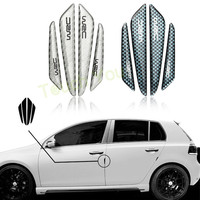 Car Sticker Door Protector Door Side Edge Protection Guards Stickers For Universal Car Carbon Fiber Accessories Auto Stickers