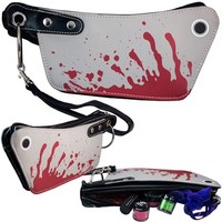 CLEAVER MINI CLUTCH MAKEUP BAG BY KREEPSVILLE 666