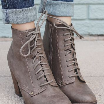 She's Got It Bootie - Taupe