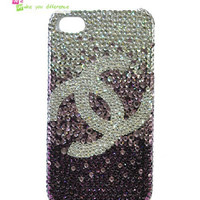 Free shipping iPhone 4 case, iPhone 4s case, case for iPhone 4 mobile case handmade: Bling bling case i92761441 (custom are welcome)
