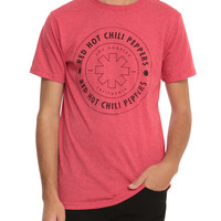 Red Hot Chili Peppers Circle Logo T-Shirt