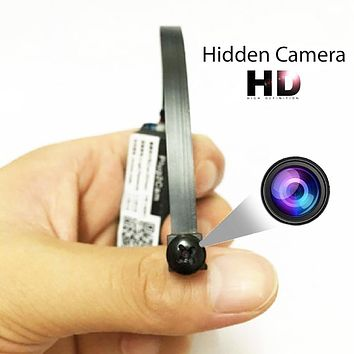 Wireless Hidden Spy Nanny Camera WiFi HD Pinhole Mini Micro DVR Video Recorder
