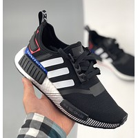 Adidas NMD_R1 Boost Originals lace-up running shoes