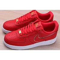 Nike Air Force 1'07 Overseas Limited China Red Phnom Penh