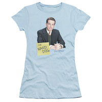 THE OFFICE/THE NARD DOG - S/S JUNIOR SHEER - LIGHT BLUE -