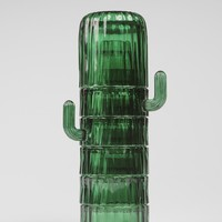 Saguaro Cactus Stackable Glasses - LAST ONE!
