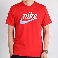 Nike 2020 Simple Breathable Round Neck Half Sleeve T-Shirt