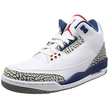 Nike Air Jordan 3 Retro OG Mens Hi Top Basketball Trainers 854262 Sneakers Shoes