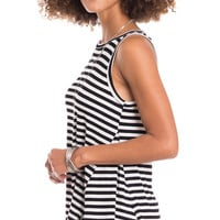 Get In Line Striped Tank Top